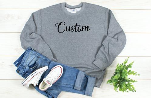 Custom Gildan Crew Sweatshirt