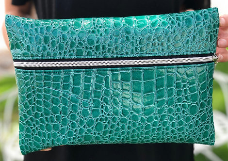 "CUTE TRAVEL MAKEUP BAG ""TURQUOISE"""