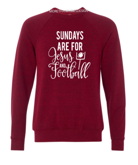 Sundays are for Jesus and Football