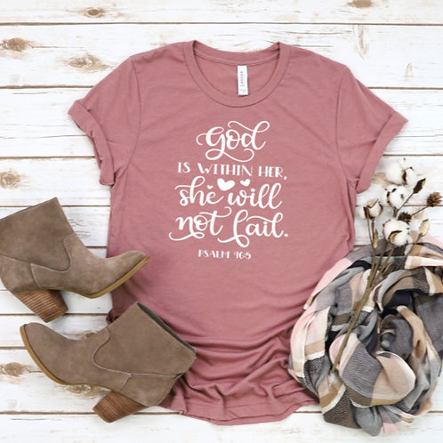 """""""God Is With Her She Will Not Fail"""""""