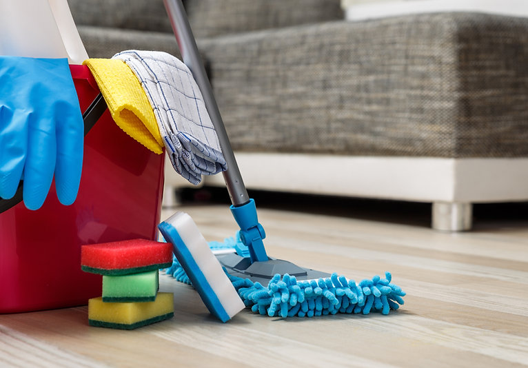 Materiais de limpeza