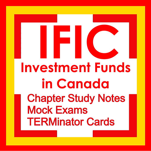 IFIC Investment Funds in Canada Exam Prep Study Kit 2021