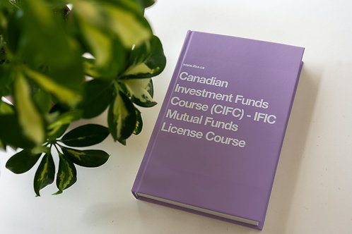 IFSE CIFC Canadian Investment Funds Exam Prep Kit