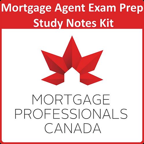 Mortgage Professionals Canada Agent Exam Prep Study Kit
