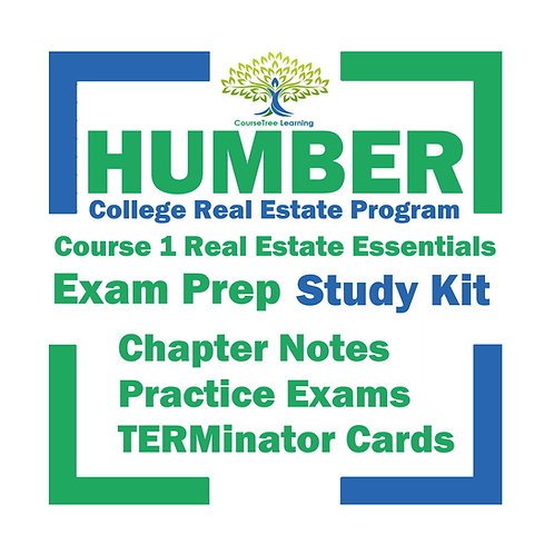 Humber Real Estate Course 1 Real Estate Essentials Study Kit