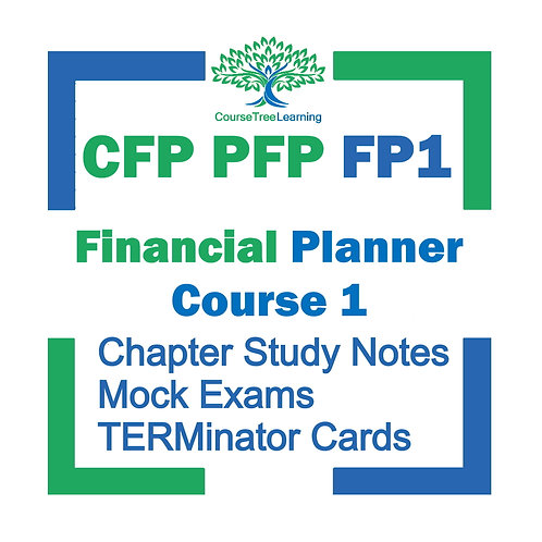 FP1 CFP PFP Financial Planning Course 1 Canadian Securities Institute Study Kit