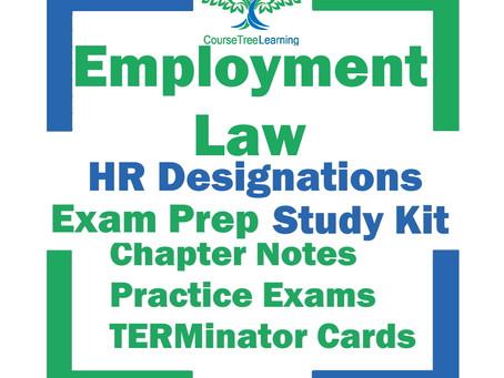 CHRP Employment Law Exam & CHRL Employment Law Exam
