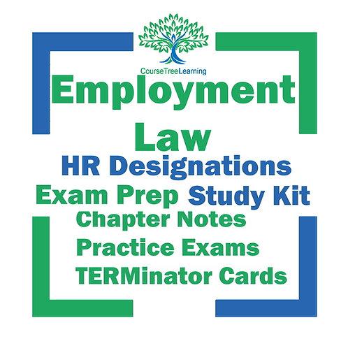 CHRL & CHRP Employment Law 2021 Exam Prep Study Textbooks & Exams