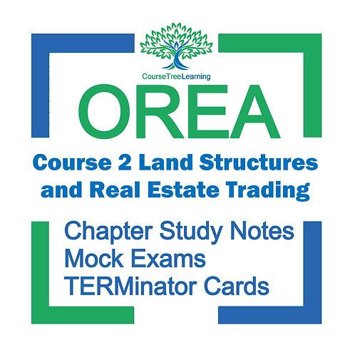 OREA Real Estate Course 2 Textbooks & Mock Exams