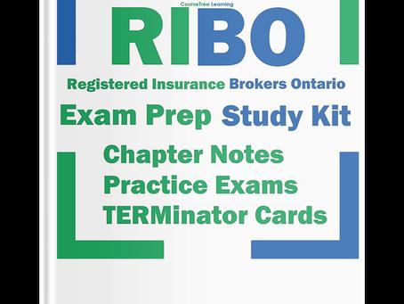 Registered Insurance Broker Ontario RIBO Exam Help