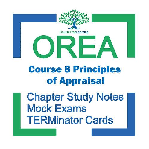 OREA Real Estate Course 8 Textbooks & Mock Exams