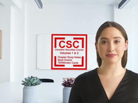 Pass the CSC Canadian Securities Course Canadian Securities Institute Volume 1 Volume 2