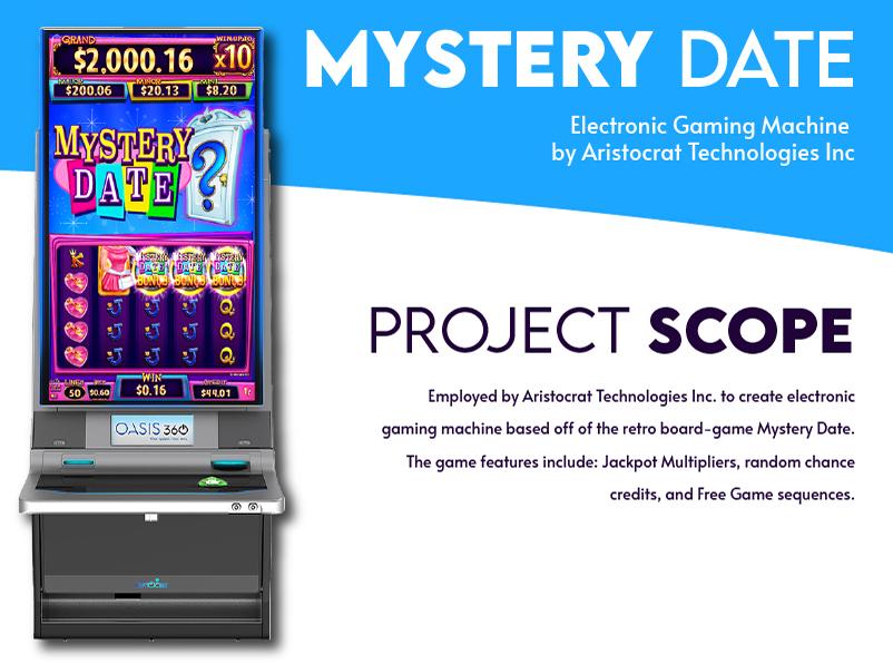 Mystery Date Slot UI