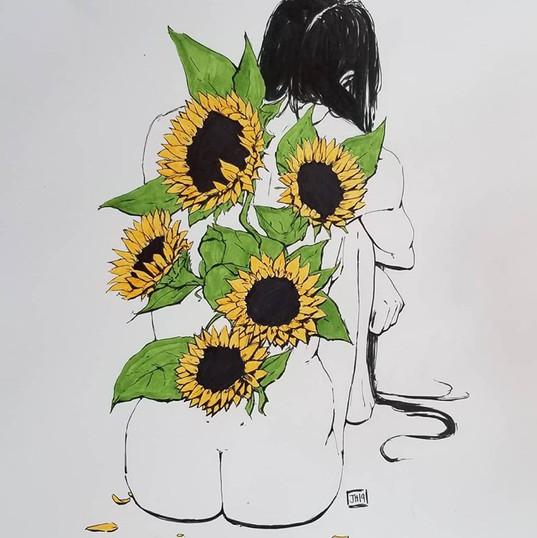Ink Based Drawings