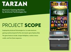 Tarzan Slot UI