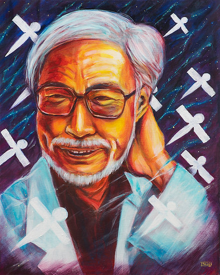 Miyazaki - Limited Edition 16x20 Canvas Paper Print