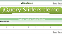 How to use a jQuery selection slider in Visualforce.
