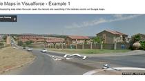 Google Maps integration in Visualforce