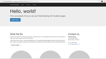 Responsive Visualforce pages demo.