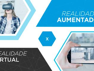 Realidade Aumentada e Realidade Virtual? Qual a diferença?