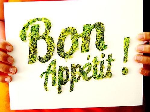 Cadre Bon appétit