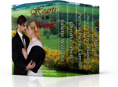 Hearts of the West #BookGiveaway #LadiesInDefiance