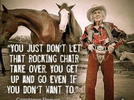 It's How You Take Life. You Don't Let it Take You. Cowboy Wisdom.