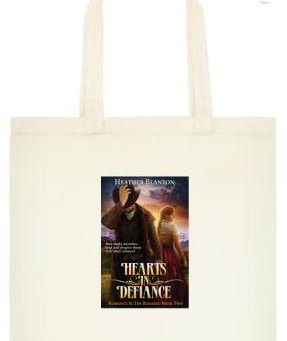 Hearts in Defiance Tote Bag #GIVEAWAY #LadiesInDefiance