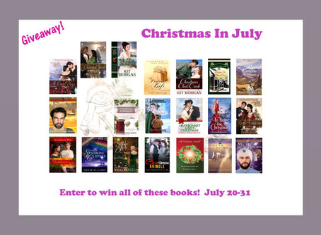 ANOTHER #Christmas in July #BookGiveaway: TWENTY #books you can #WIN #LadiesinDefiance