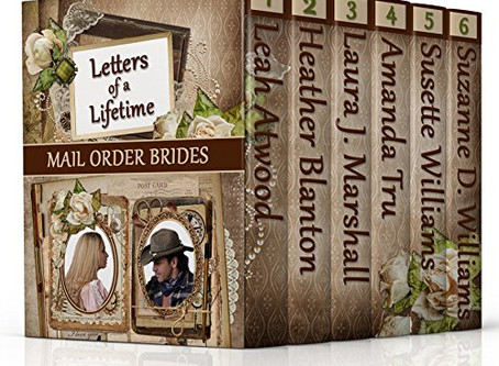 Mail Order Brides: Letters of a Lifetime #WIN Book Collection #Giveaway #LadiesinDefiance