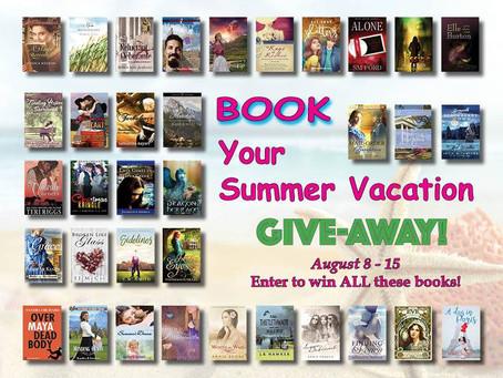 #WIN the #BOOKyourSummerVacation 35 Book #Giveaway #LadiesinDefiance