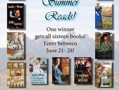 SIXTEEN #Books for you to #WIN #SweetSummerReads #Giveaway #LadiesinDefiance