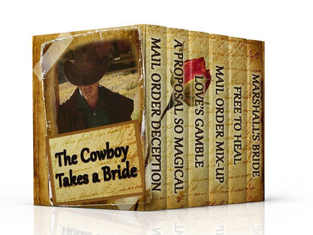 NEW RELEASE: The Cowboy Takes a Bride BOX SET by Susette Williams, Tina Dee, & Heather Blanton #