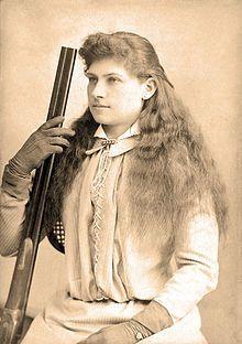 Eat, Sleep, Shoot…Repeat. Oh, Yeah, Annie Got Her Gun All Right!