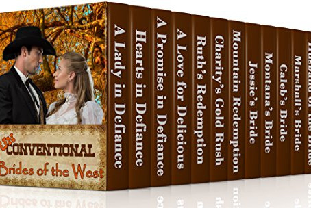 Unconventional Brides of the West Book Collection #GIVEAWAY #LadiesinDefiance