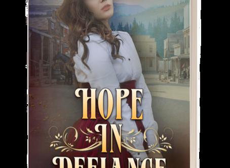 Releasing Today: Hope in Defiance