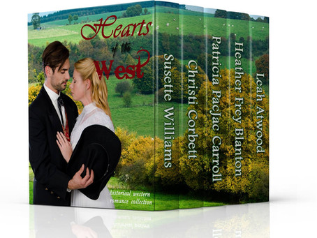 Hearts of the West BOOK #Giveaway #LadiesInDefiance