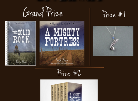A Mighty Fortress by Faith Blum Guest Post and #Giveaway