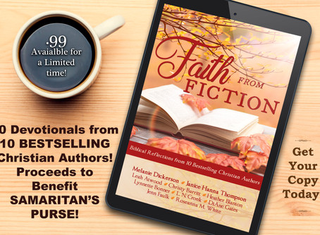 Faith from Fiction–a New Release to Benefit Samaritan's Purse