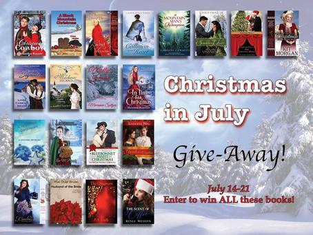 A #CHRISTMASinJuly TWENTY #BookGiveaway #LadiesinDefiance #WIN