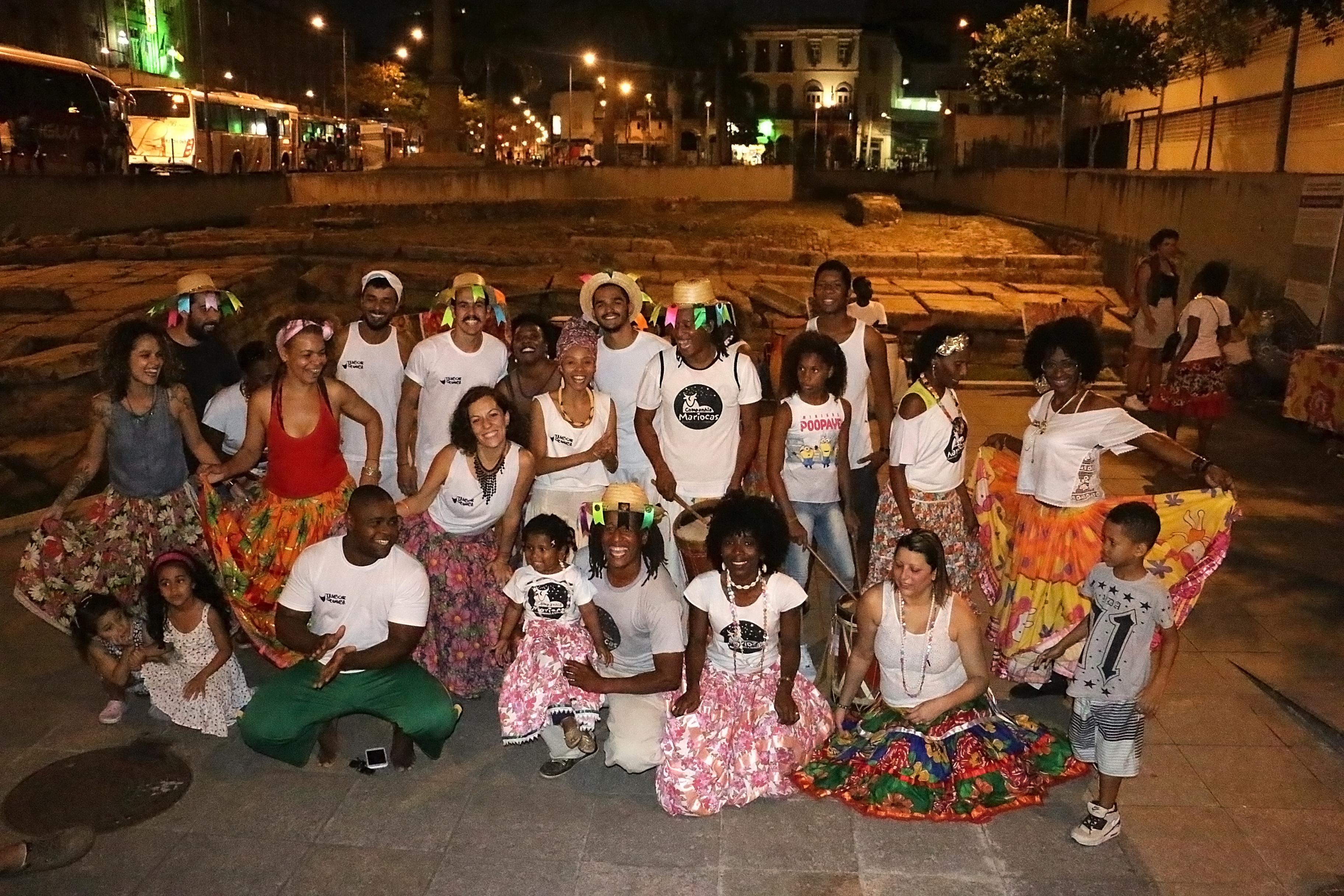 Tambor de Cumba e Cia Mariocas