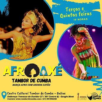 Oficina de Dança AfroAxé
