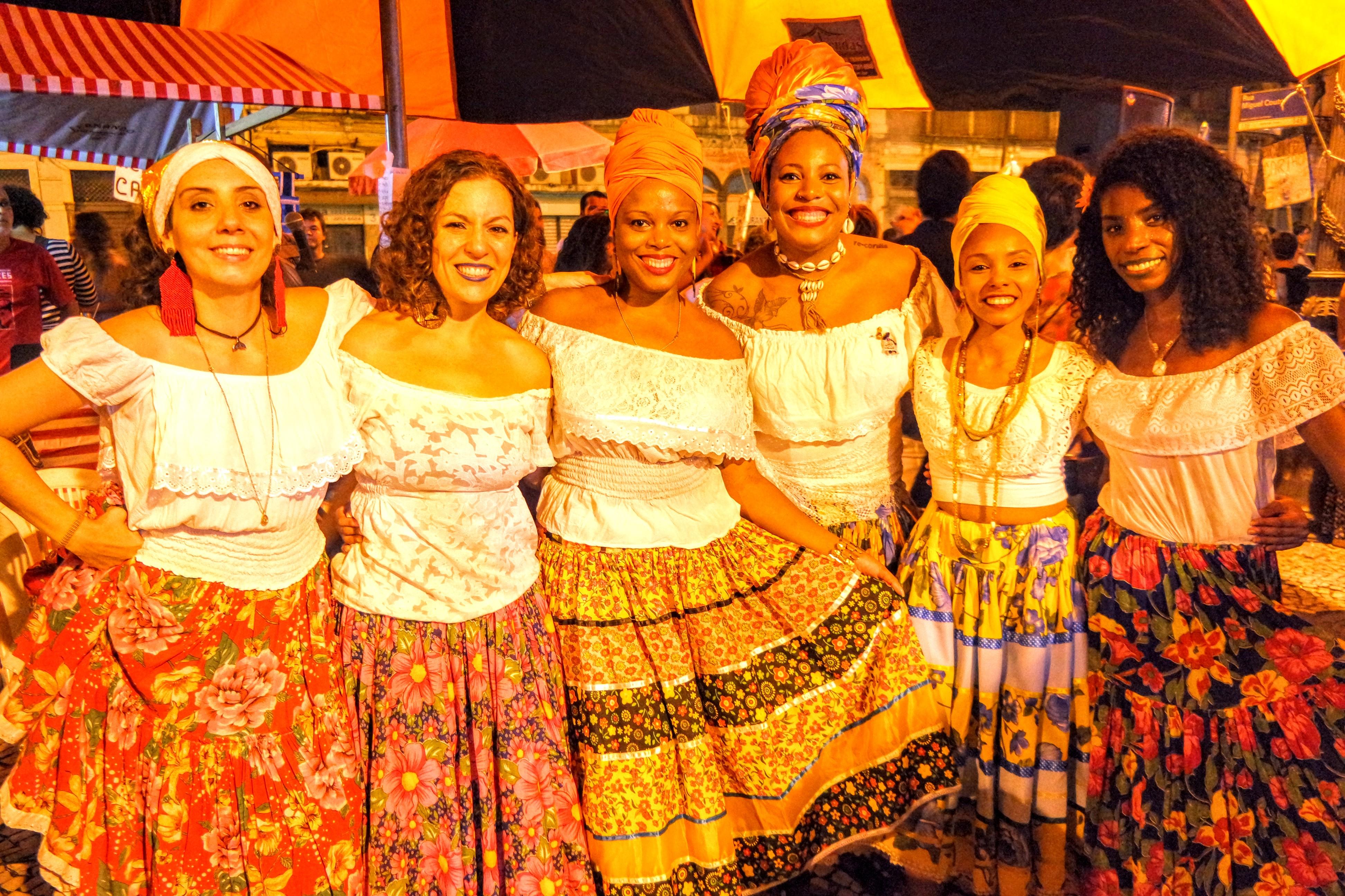 Mulheres - Tambor de Cumba