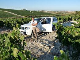 Salvador Pineda, gerente de Rutasiete experiencias en 4x4 en la provincia de Cádiz