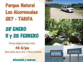 Ruta 4x4 Parque Natural Los Alcornocales GR7 - Tarifa