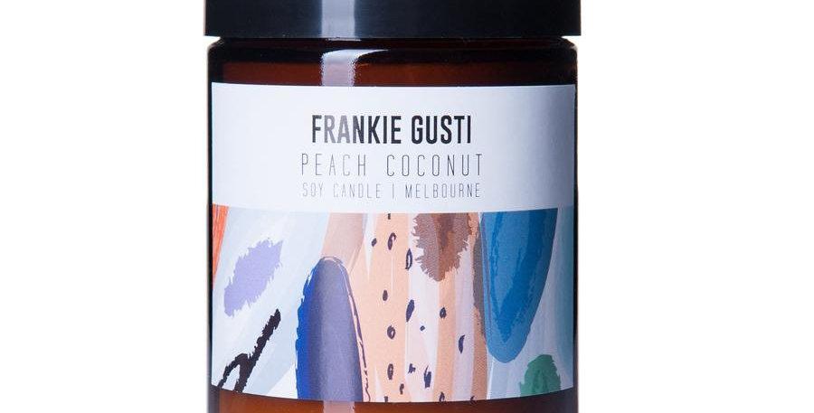 Frankie Gusti Candle - Peach Coconut