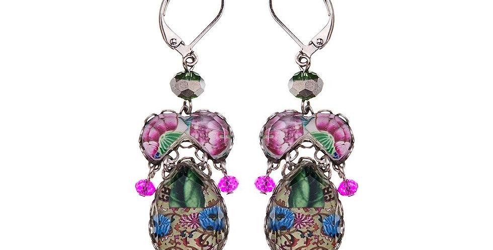 Enchanted Garden, Gilia Earrings