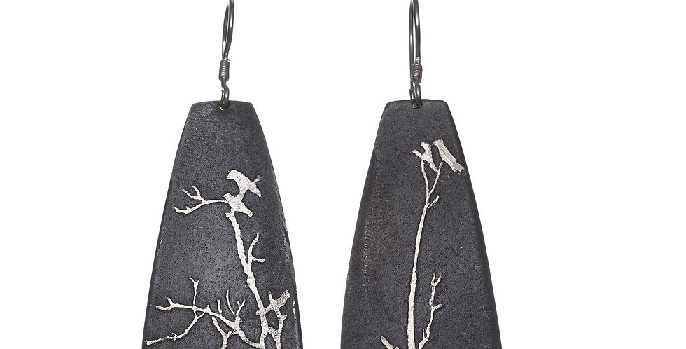 Etched Earring No. 33