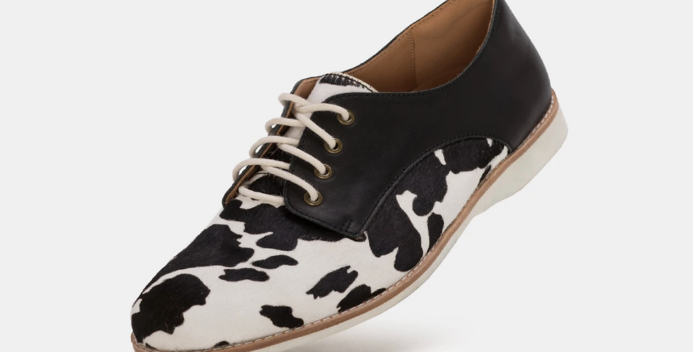Derby Cow Hide / Black