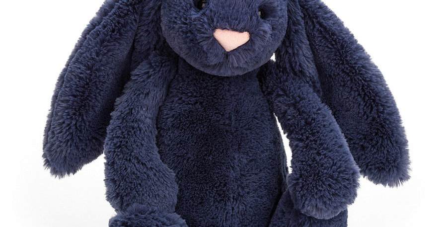 Jellycat Bashful Bunny - Small Navy